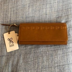 NWT HOBO RIDER LEATHER WALLET